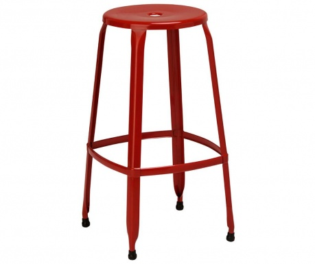 Barová stolička Disco Red