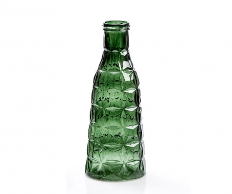 Dekorativna steklenica Tropical Dark Green