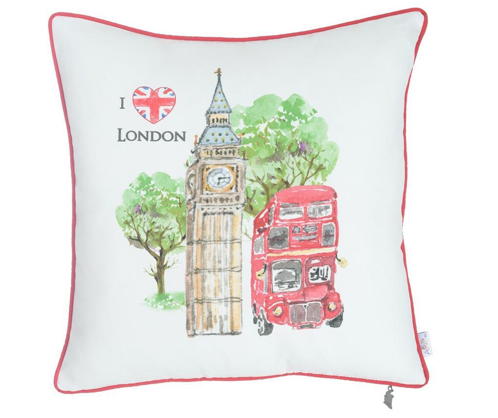 Fata de perna London Bus 43x43 cm