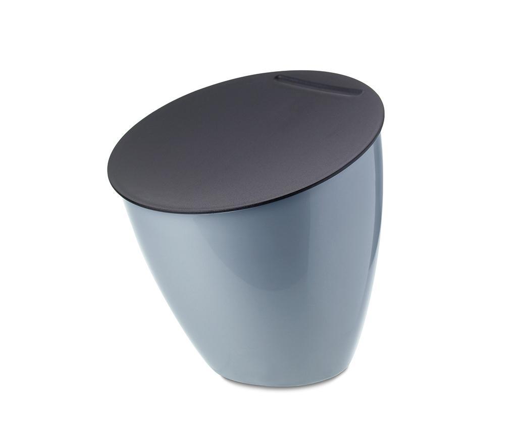 Cos de gunoi cu capac Calypso Blue 2.2 L
