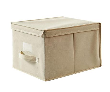 Shranjevalna škatla s pokrovom Misha Ecru