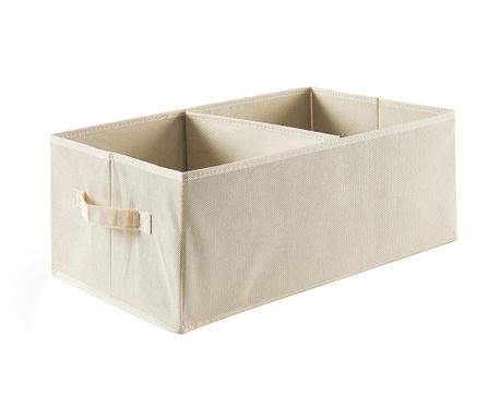 Kutija s 2 odjeljka Easy Ecru