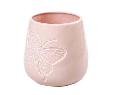 Pink Butterfly Virágcserép