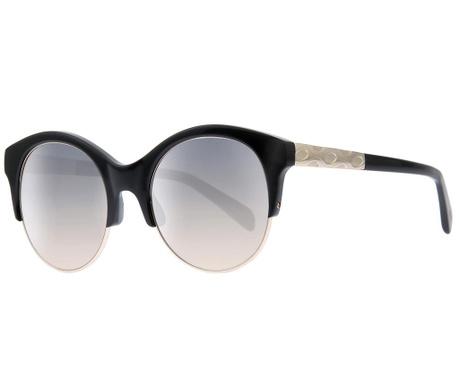 Okulary przeciwsłoneczne damskie Emilio Pucci Gradient Round Black