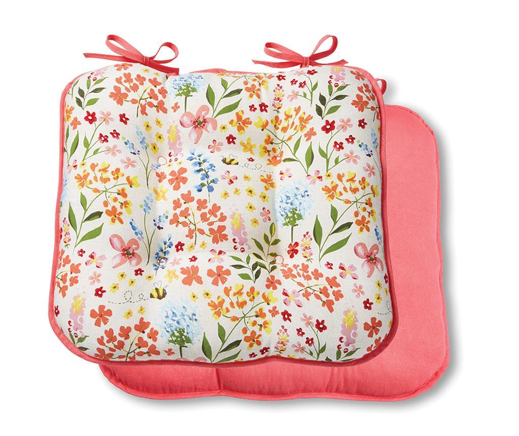 Jastuk za sjedalo Bee Happy 40x43 cm