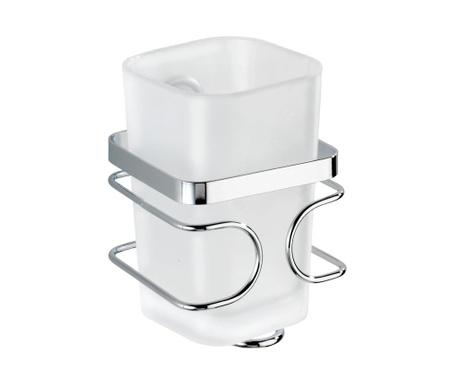 Pohár do koupelny s držákem Premium