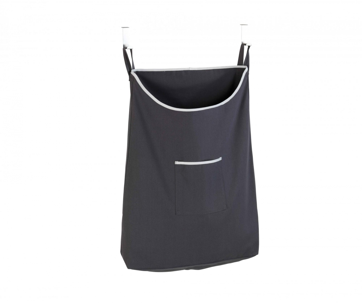 Zestaw 2 wieszaki i  torba na pranie Canguro Grey 65 L