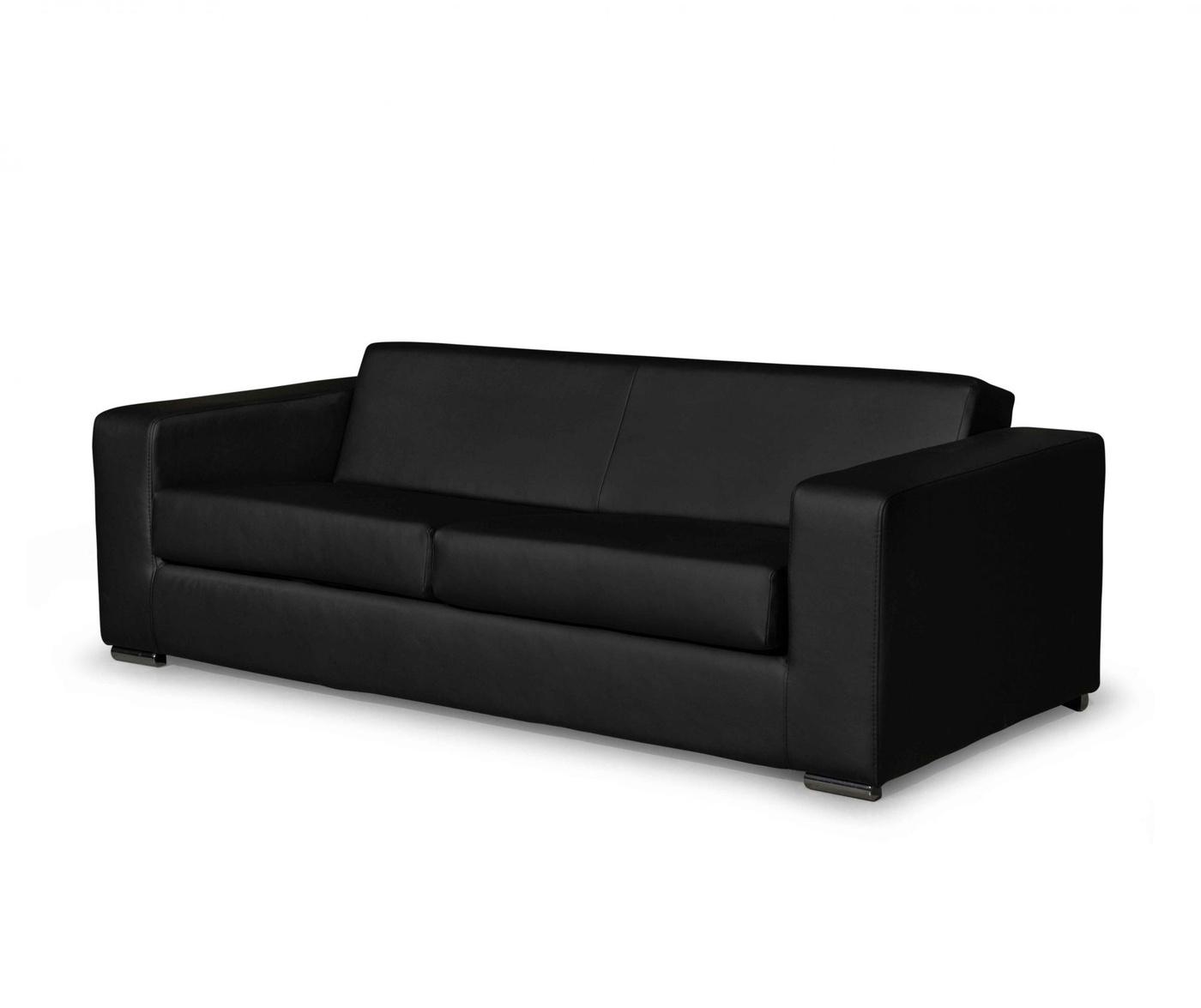 Canapea 3 locuri Ava Paloma Black