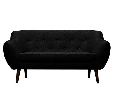 Canapea 2 locuri Piemont   Black