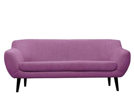 Canapea 3 locuri Toscane  Purple