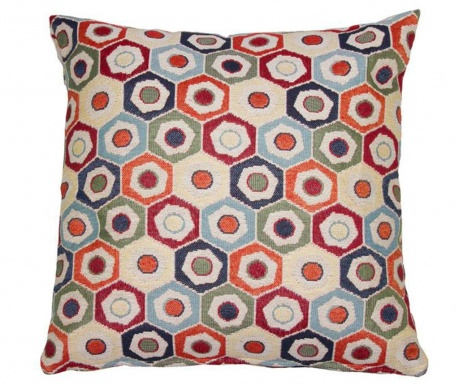 Perna decorativa Hexagon 45x45 cm