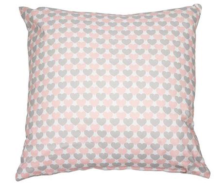 Pink Love Díszpárna 45x45 cm