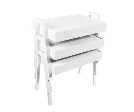 Nesting White 3 db Moduláris asztalka