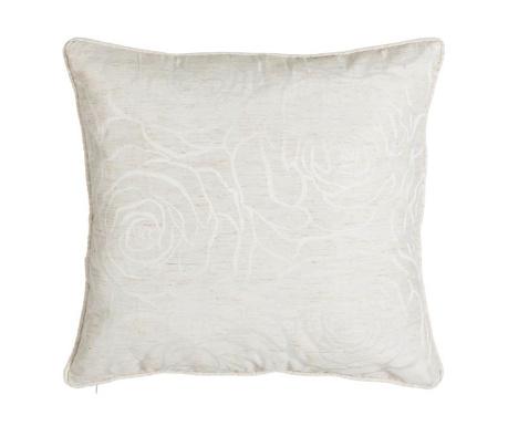 Декоративна възглавница White Roses 45x45 см
