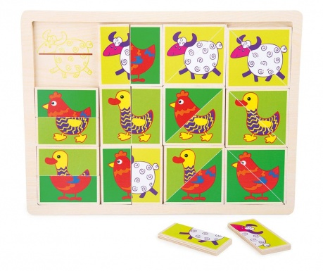 Puzzle 24 piese Funny Animal
