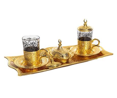 Сервиз за кафе 9 части Khali Gold