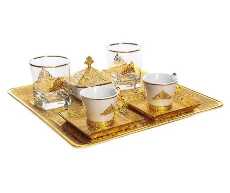 Сервиз за кафе 9 части Riza Gold