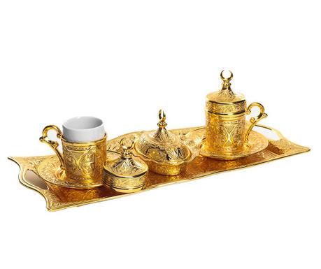 Serail Gold 9 darabos Kávéskészlet