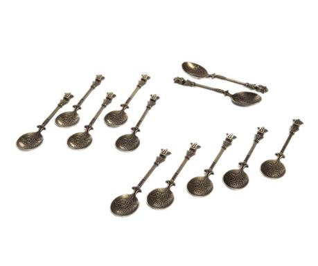 Комплект 12 лъжички Naim Bronze