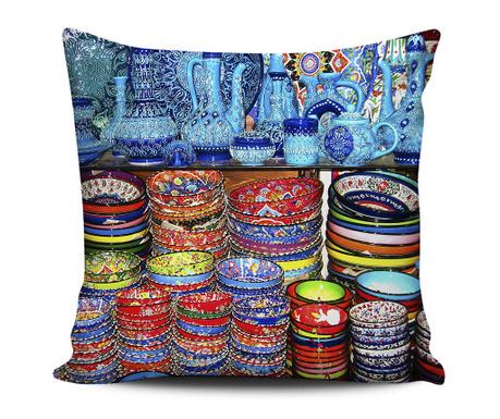 Pots and Colors Díszpárna 43x43 cm