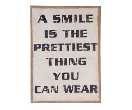 Decoratiune de perete A Smile