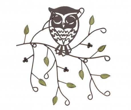 Decoratiune de perete Owl on the Branch