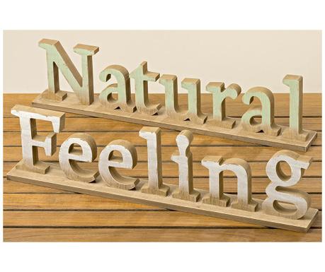 Zestaw 2 dekoracji Natural Feeling