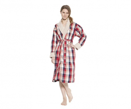 Дамски халат за баня US Polo Charm