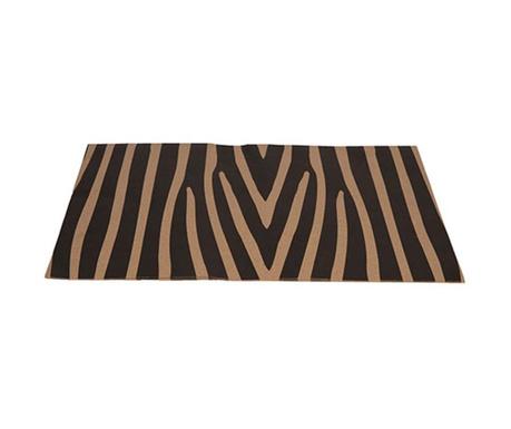Set 50 individualuri de unica folosinta Zebra 33x48 cm