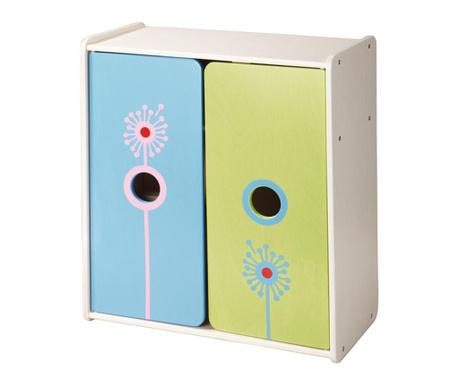 Шкафче за играчки Flower