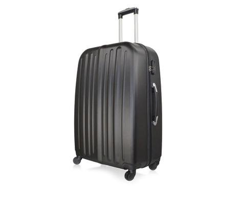 Alabama Noir  Gurulós  bőrönd