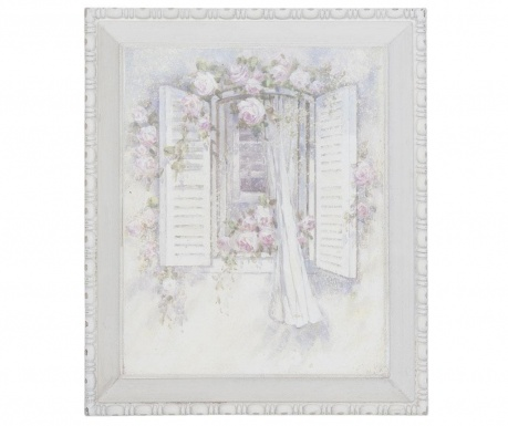 Картина Romantic Window 27x32 см