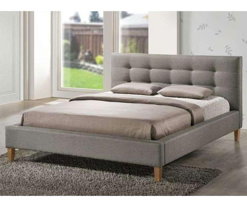 Łóżko Tonks Grey 140x200 cm
