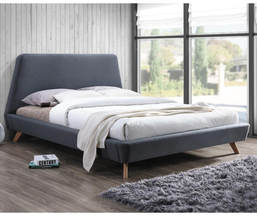 Łóżko Hera Grey 160x200 cm
