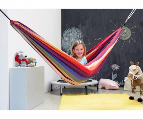Hamac pentru copii Chico Rainbow 120x220 cm