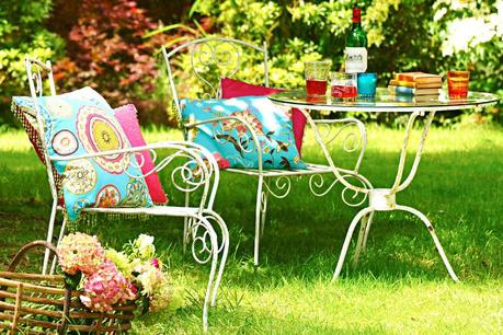 Grădină romantică