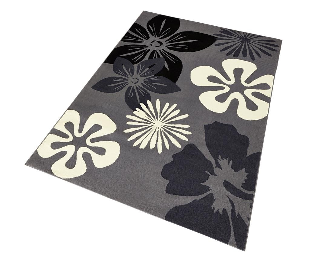 Tepih Flowers Grey 80x150 cm