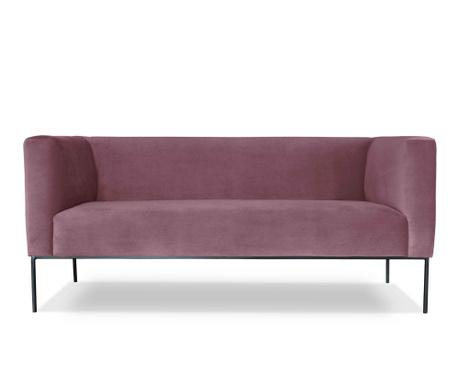 Canapea 2 locuri Neptune Purple