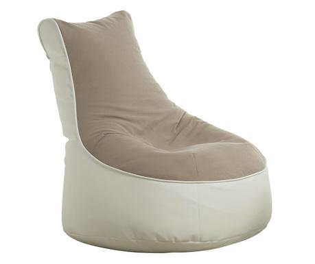 Puf Comfort Genua Beige White