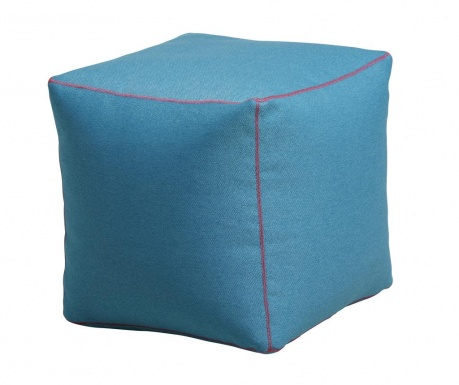 Puf Cube Turquoise