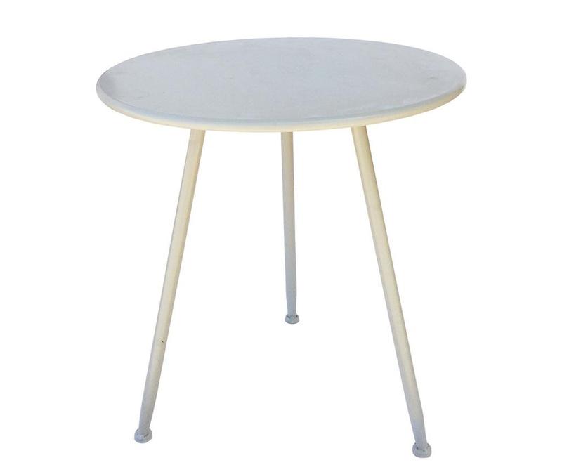 Vrtna mizica Piedi White