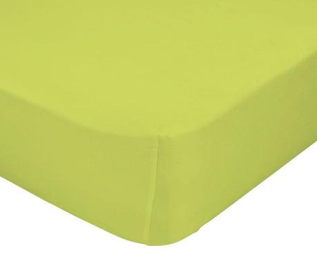 Rjuha z elastiko Basic Green 90x200 cm
