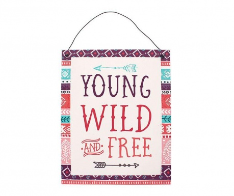 Zidni ukras Wild and Free