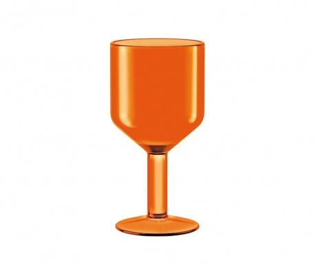 Kozarec za vino The Good Times Orange 240 ml