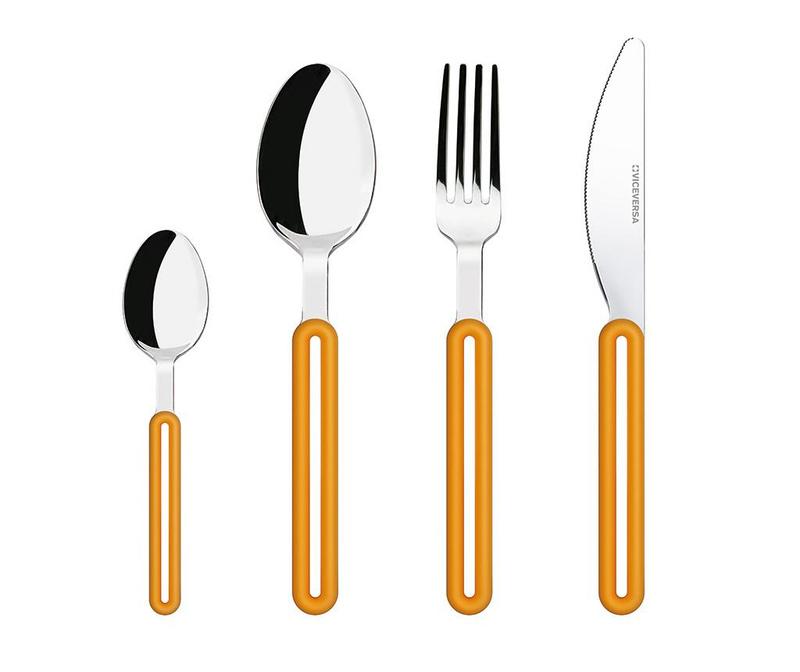 Offset Orange 4 darabos Evőeszköz készlet