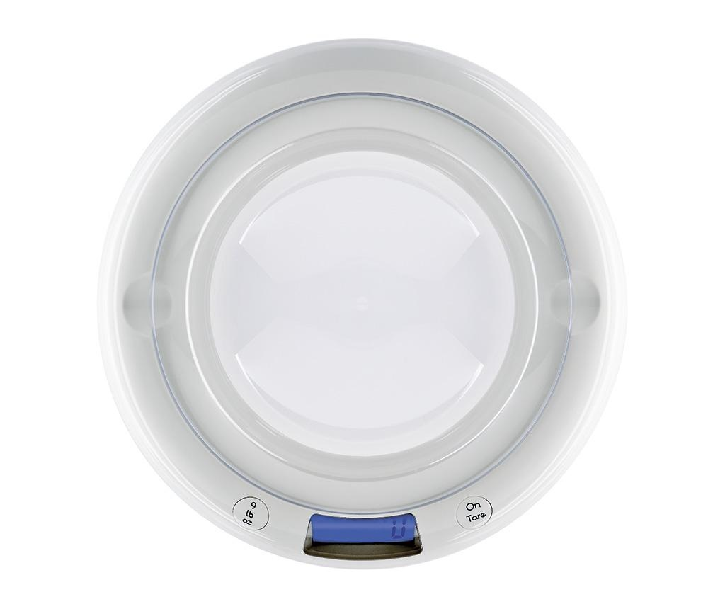 Cantar digital de bucatarie Bubble White