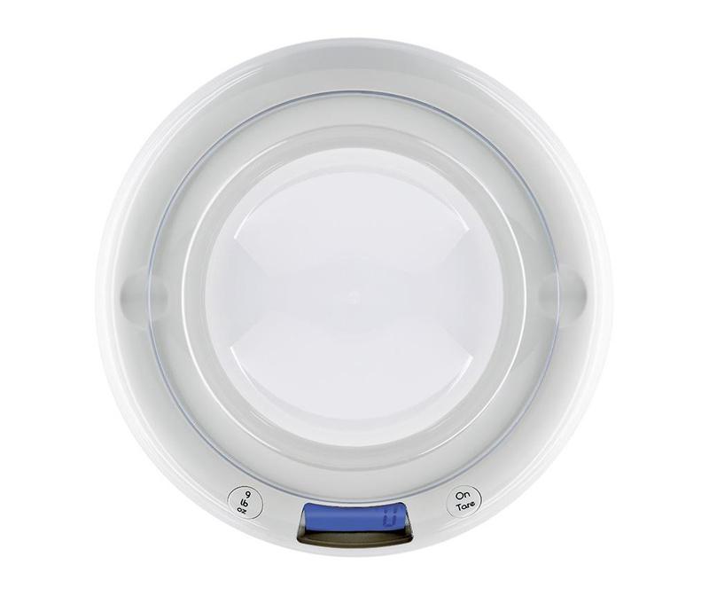 Digitální kuchyňská váha Bubble White