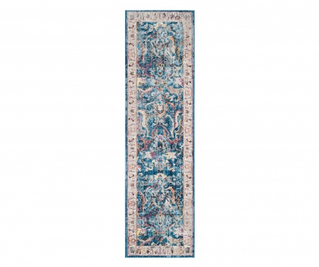 Tepih Myra Blue and Light Grey 62x240 cm