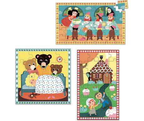 Sada 3 puzzle Kids Tales