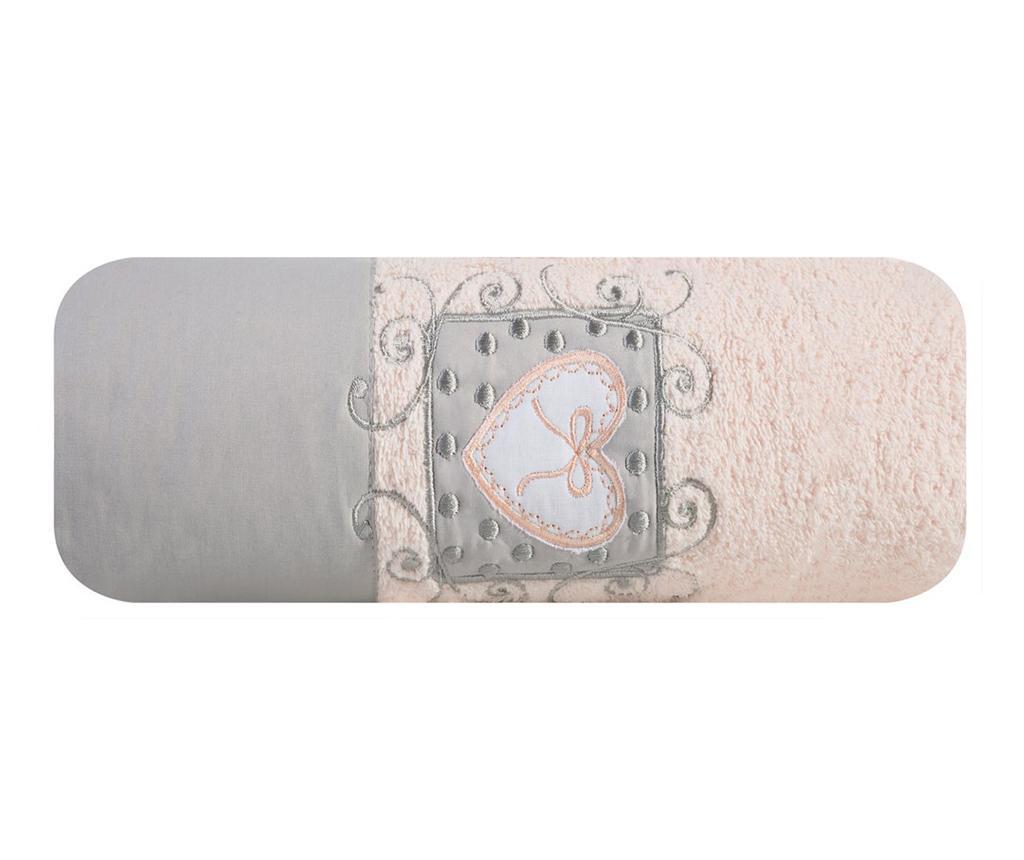Kupaonski ručnik Nora Pink 70x140 cm